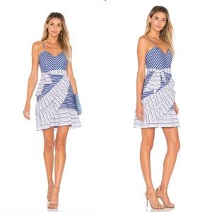 Brooklyn Dress in Multi Stripe- Parker